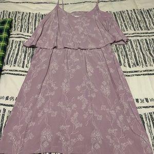 Spaghetti strap purple Old Navy dress